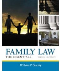 Solution Manual for Family Law The Essentials, 3rd Edition