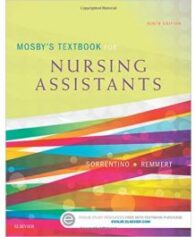 Test Bank for Mosbys Textbook for Nursing Assistants 9th Edition by Sorrentino